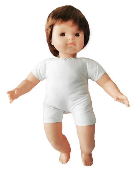 Soft Body Baby Doll with Hair Causacian