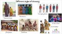 Different Styles of Dressing1
