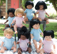 Dolls with hair