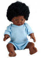 black doll hair